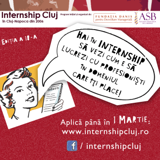 Over 60 internship for students for this Spring edition of Internship Cluj