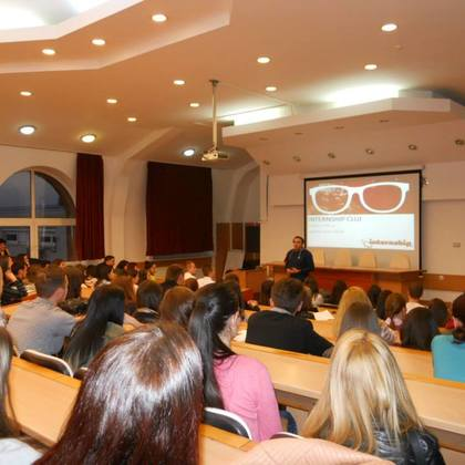 Internship Cluj – Autumn 2014