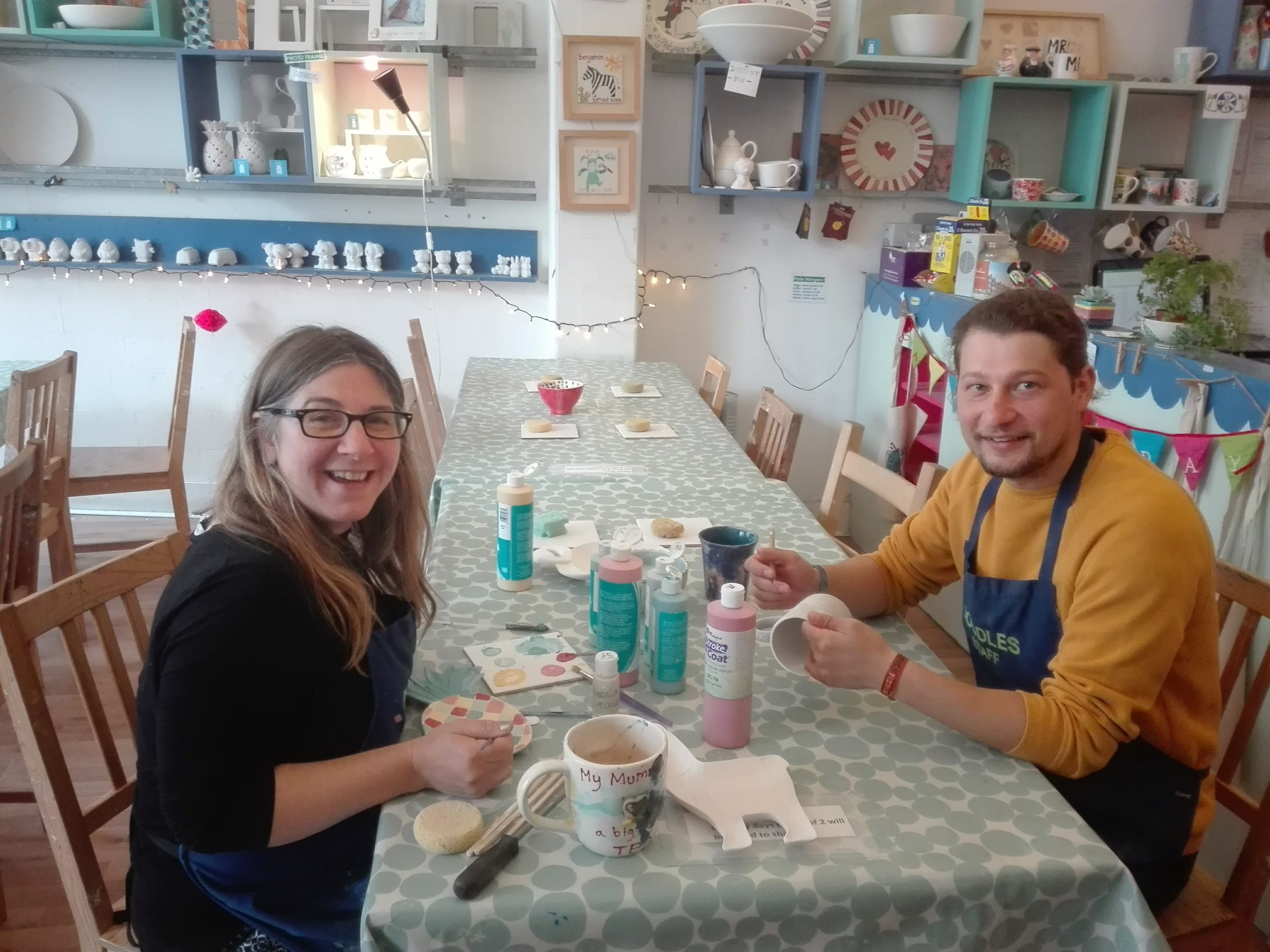 When passion for pottery meets in the Erasmus for Young Entrepreneurs Programme